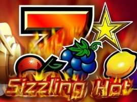 Knacken Sie den Jackpot bei Sizzling Hot!