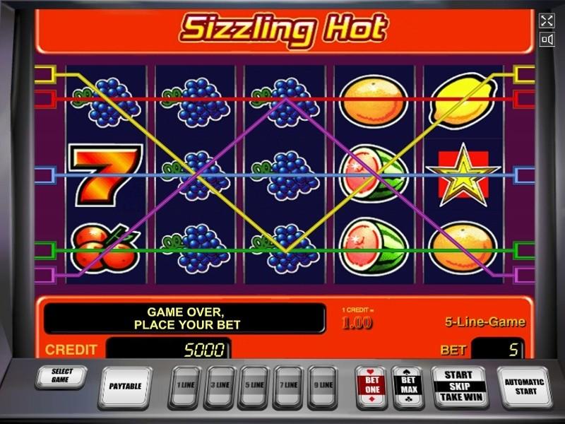 Sizzling Hot 5 Siebener